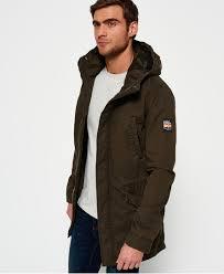 Green Parka Jacket Mens Superdry Classic Rookie Military Parka Coat Men U0027s Jackets