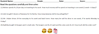 all worksheets multiplication and division word problems