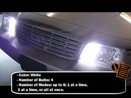 strobe light bulbs for cars hid hide a way strobe light kit youtube