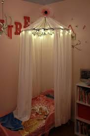 Diy Canopy Bed With Lights Diy Canopy Bed Diy Bed Canopy With Lights Cotcozy