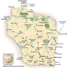 wisconsin scenic drives map wisconsin road trips