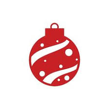 christmas ornament die cut holiday christmas paper ornament