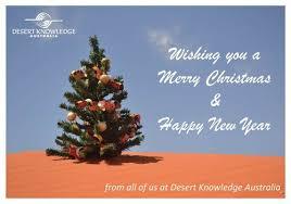 merry christmas from desert knowledge australia desert knowledge