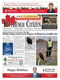 City Of Kitchener Garbage Collection by Kitchener Citizen East Edition December 2016 By Kitchener