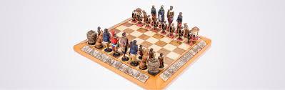 themed large african tribal chess set kumbula shop