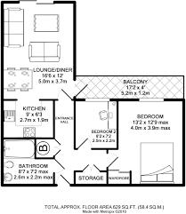 zenith floor plan 2 bedroom apartment for sale in the zenith building leicester