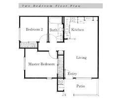 simple house floor plan simple home designs 2 free house plan small bedroom ranch house