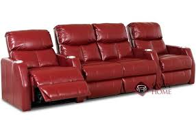 unique home theater sofa recliner with atlantis seat leather