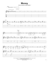 Bad Day Chords Money Sheet Music By Pink Floyd Guitar Tab Play Along U2013 59106