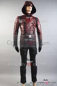 Digimon Halloween Costume Arrow Season 3 Red Arrow Roy Harper Arsenal Red Cosplay Costume