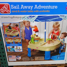 step 2 sand and water table costco deal step 2 sail away adventure sand water table frugal