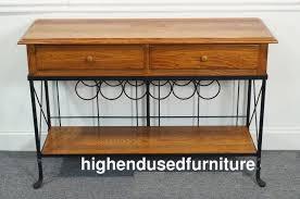 high end used furniture kincaid solid wood u0026 iron 49