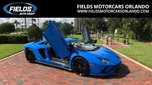 lamborghini aventador 2018 2018 lamborghini aventador s coupe for sale near longwood florida