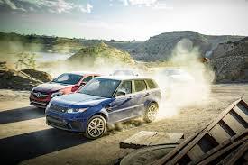 porsche cayenne turbo vs turbo s bmw x6m vs range rover sport svr vs porsche cayenne turbo s vs