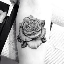 3d black and white rose tattoos realistic rose tattoo black and