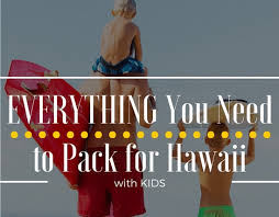 Hawaii travel toiletries images What to pack for a trip to hawaii with free printable list png