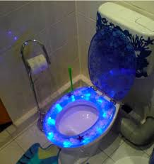 themed toilet seats led toilet seat for modern bathroom ideas with stunning white