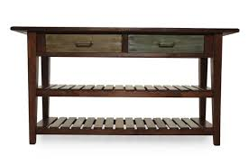 The Changing Table Okc Two Xylophone Shelf Casual Console Table In Rustic Brown Mathis
