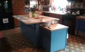 Painted Kitchen Islands Painting My Kitchen Island With Sloan Chalk Paint Hometalk