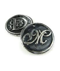 Custom Silver Pendants Custom Order Silver Wax Seal Pendant Ttereve
