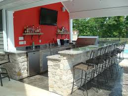 The House Plans by Kitchen 11 Outdoor Kitchen In The House House Plans With