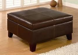 Storage Ottoman Bench Seat Impressive Leather Bench Seat With Storage Appealing Ottoman Bench