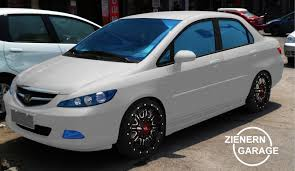 honda city 2008 white modification zienern corp