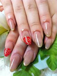 cute nail designs simple beige acrylic nails by ayano