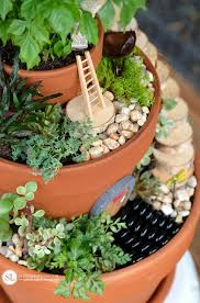 Garden Flowers Ideas Flower Pot Miniature Gardens Bystephanielynn