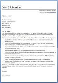 systems integration manager cover letter