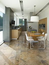 Slate Kitchen Floor by Kitchen Flooring Sheet Vinyl Plank Best For Kitchens Slate Look