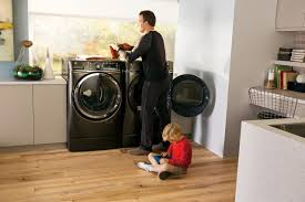 Front Loader Pedestal Height Matters Ge U0027s New Ergo Friendly Frontload Washer And Dryer