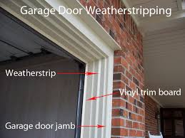 Weather Stripping Exterior Door How To Replace Garage Door Weatherstripping Garage Doors