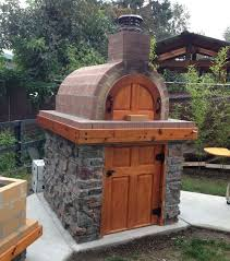 Backyard Pizza Ovens How To Build A Wood Fired Pizza Oven In Your Backyard Media Magazine
