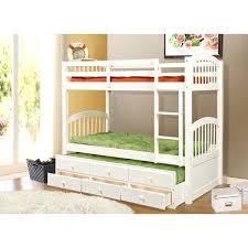 Bunk Bed With Trundle White Bed With Storage Amazing White Bunk Beds With Storage