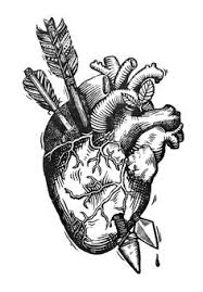 images for u003e real heart tattoo drawing love more pinterest