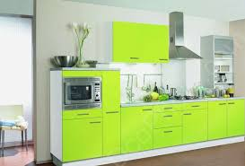 deco cuisine couleur photo une cuisine hygena de couleur vert fluo