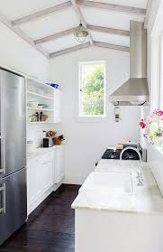 how to make a small galley kitchen work 6 brilliant space solutions for galley kitchens kitchn