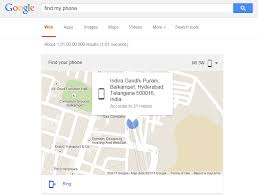 locate my android phone type find my phone in to locate your android phone