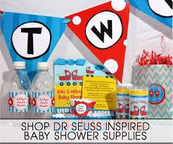 Dr Seuss Decorations Dr Seuss Inspired Baby Shower Supplies