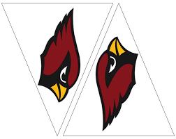 Cardinal Flag Arizona Cardinal Logo Clip Art 76
