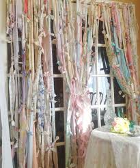 Shabby Chic Nursery Curtains by Rag Curtains Boho Garland Rustic Boho Curtain Shabby Chic Curtain
