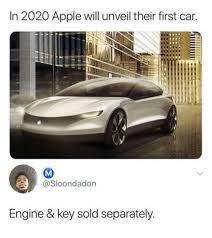 Car Keys Meme - in 2020 apple will unveil their first car engine key sold