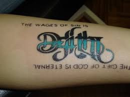 new tattoo life and death tattoo
