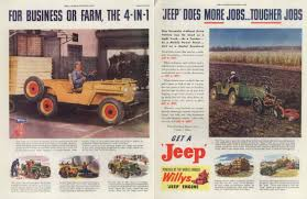 vintage jeep ad ads willys u0026 jeep