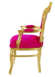 Esszimmer Sessel Kaufen Esszimmer Stühle Esstisch Stuhl Sessel Barock Antik Pink Gold