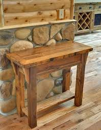 Diy Wooden Bedside Table by Best 20 Rustic Wood Tables Ideas On Pinterest U2014no Signup Required