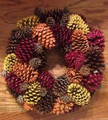 fresh new fall inspiration ideas pine cone pine and wreaths