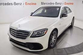 new 2018 mercedes benz s class s 63 sedan in encino 57282