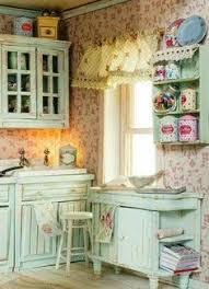 gorgeous colour combination by artofmini com dollhouse